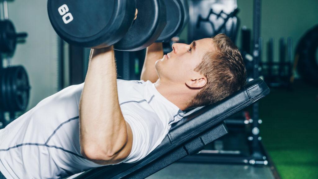 Personlig træning i fitnesscenter